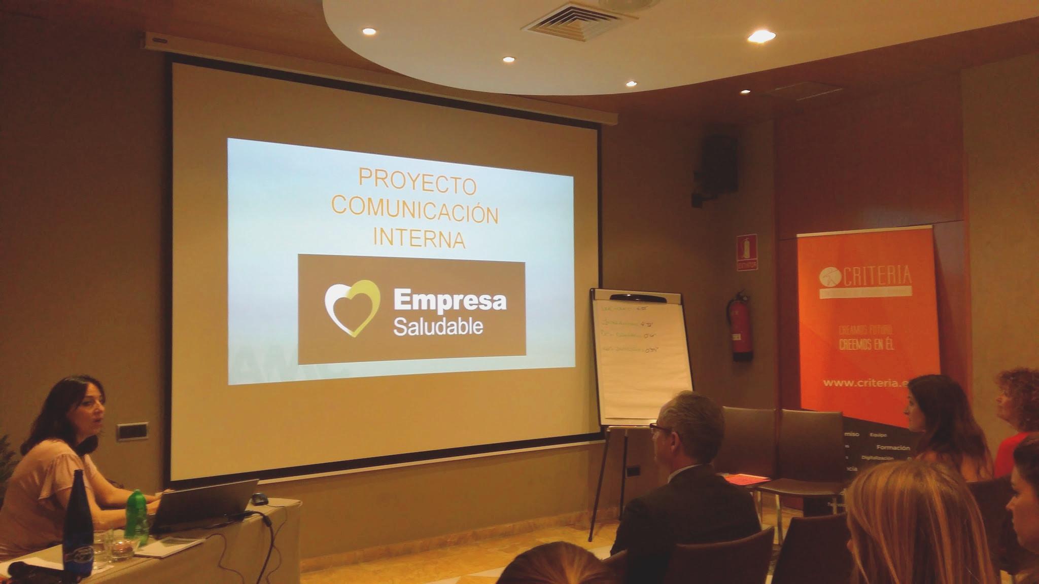 Jornada Empresa Saludable Madrid Sonia González AMC