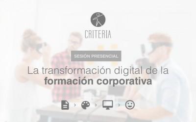 La transformación digital de la formación corporativa