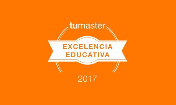 Premio Excelencia Educativa otorgado por TuMaster