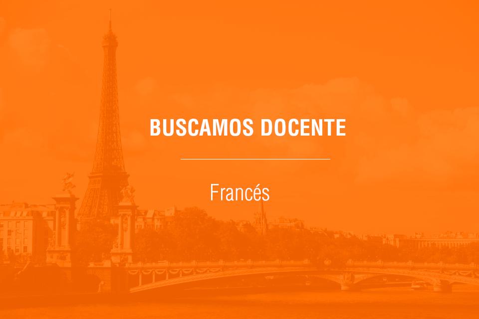 Oferta de docente de francés