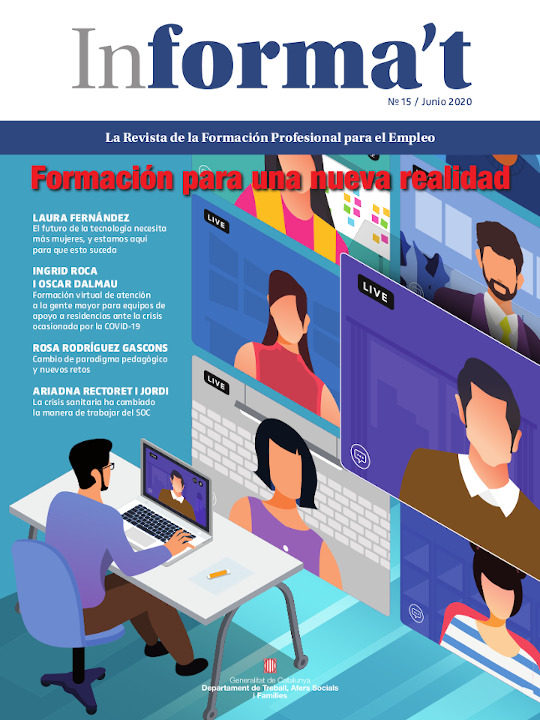 Portada Revista Informa't junio 2020