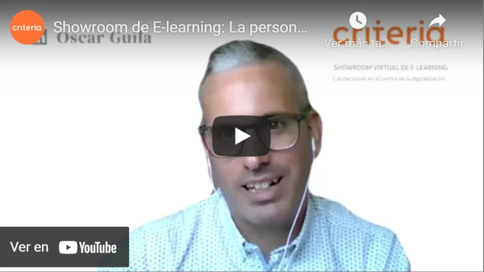 Jornadas de e-learning, la persona en el centro de la digitalización